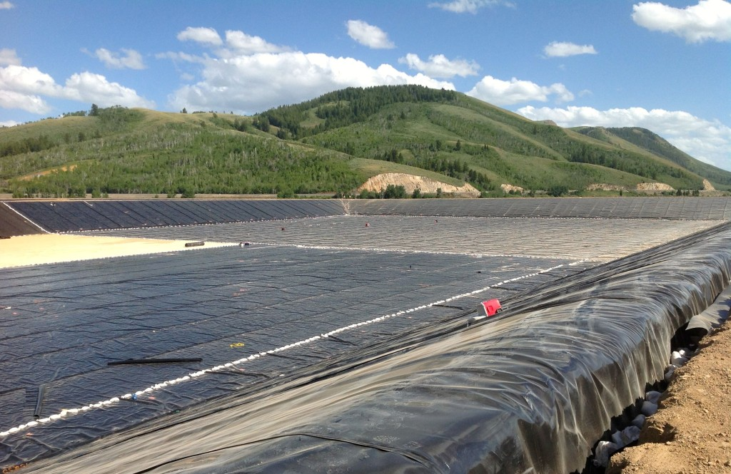 International Lining Technology works on the Billings Landfill Phase 5.