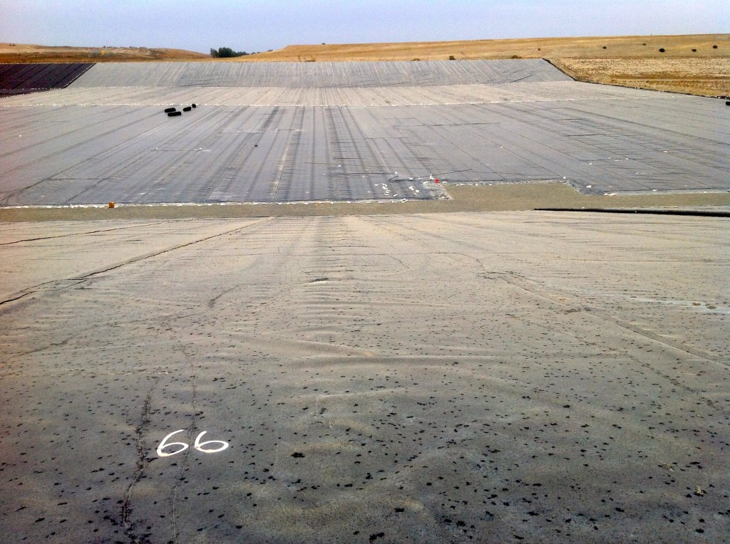 International Lining Technology worked on the American Avenue landfill in Kerman, California in 2012.