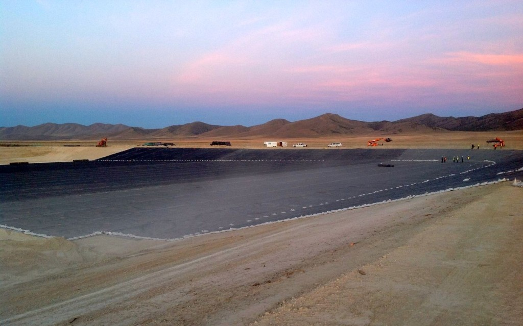 International Lining Technology works on the Intermountain Regional Landfill.