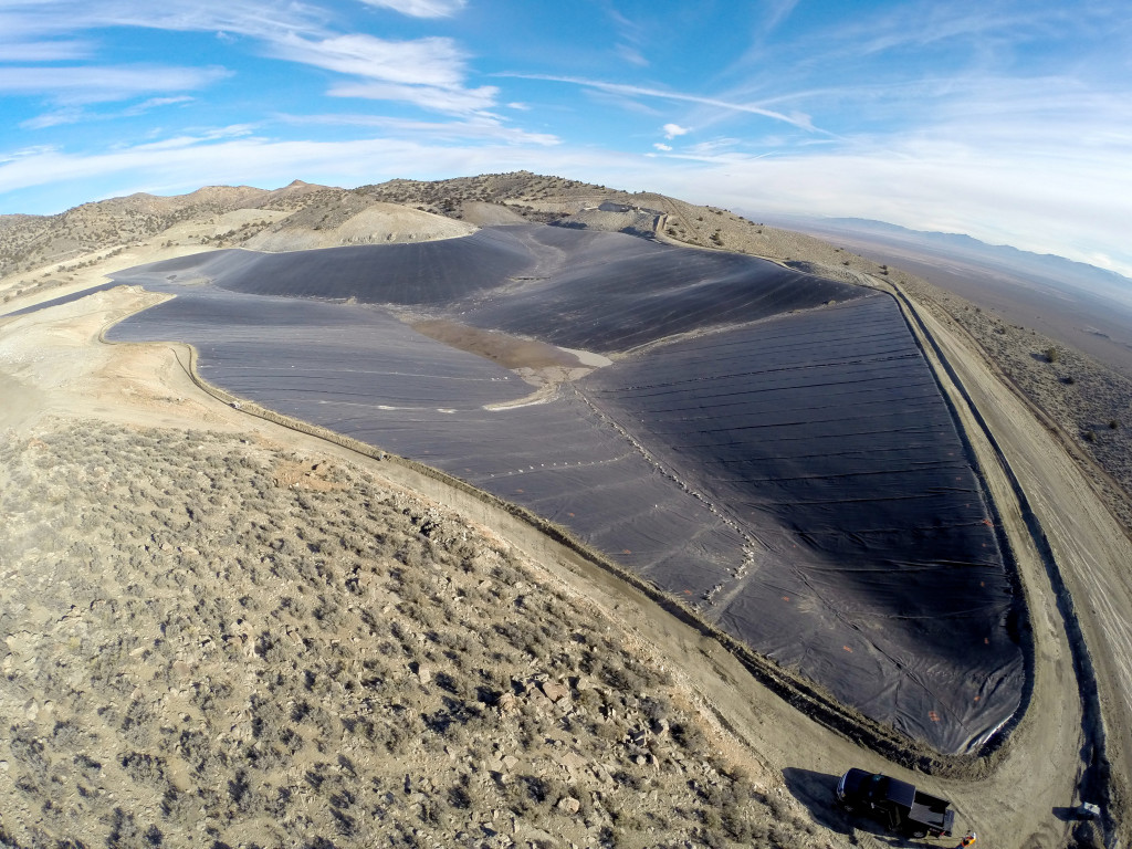 International Lining Technology install install at this mining operation in Milford, Utah in 2015.